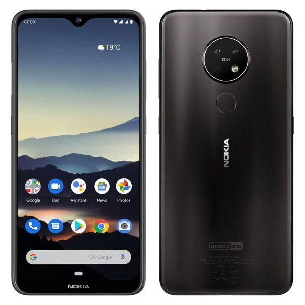 Nokia 7.2 128 go dual Noir reconditionné en France