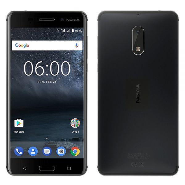Nokia 6 Dual TA1021 Noir reconditionné en France