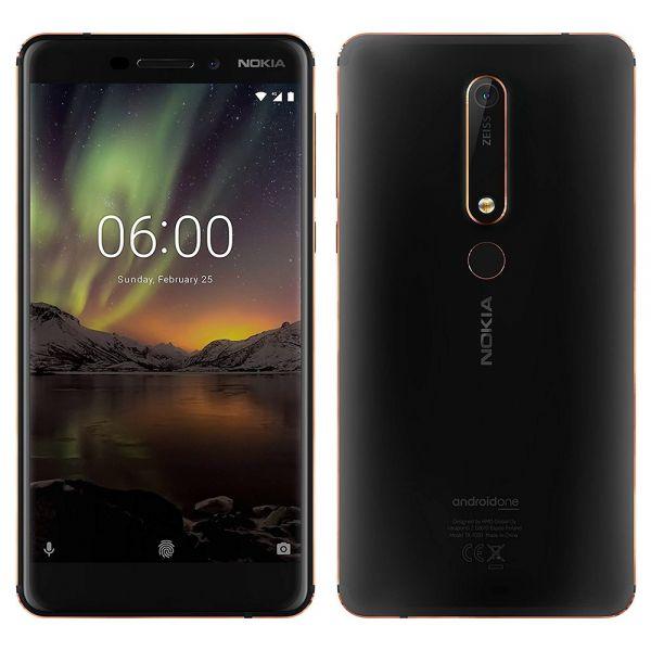 Nokia 6.1 Dual 32 Go TA1043 Noir reconditionné en France