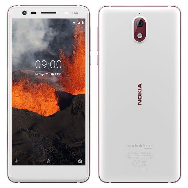 Nokia 3.1 16 Go Dual TA1063 Blanc reconditionné en France