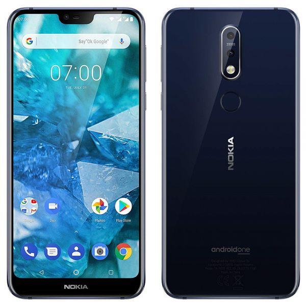 Nokia 7.1 Dual 64 Go Noir reconditionné en France