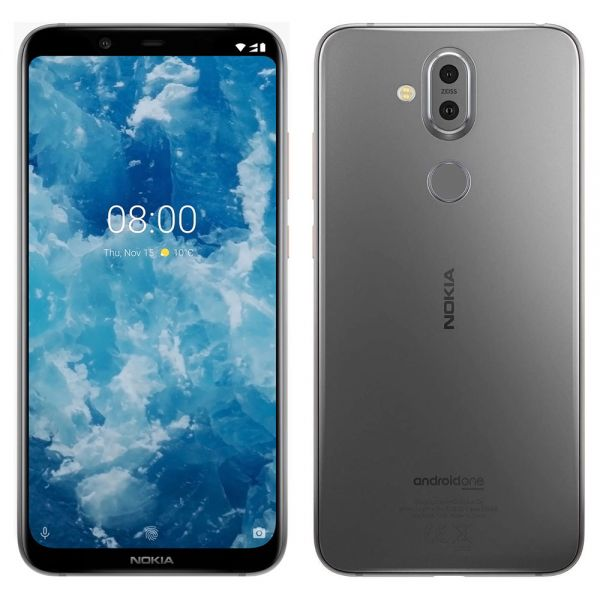 Nokia 8.1 Dual 64 Go TA1119 Gris reconditionné en France