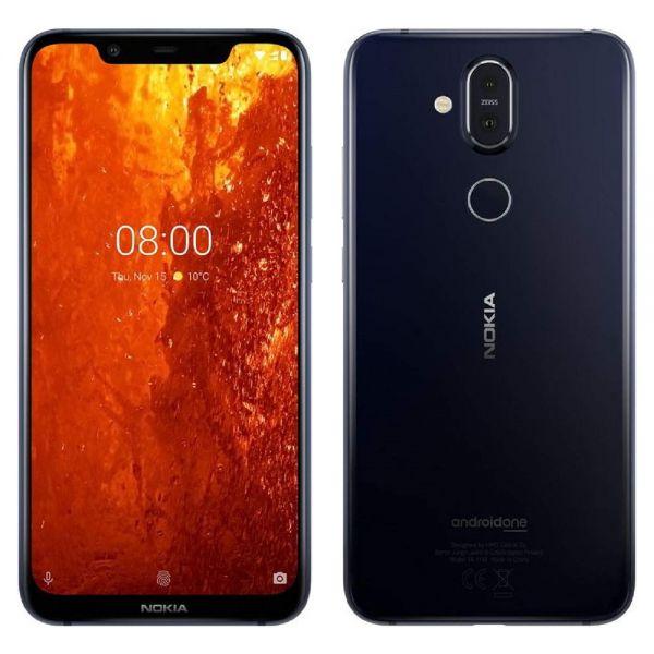 Nokia 8.1 Dual 64 Go TA1119 Noir reconditionné en France