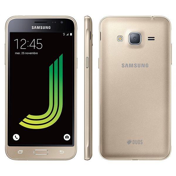 Samsung Galaxy J3 (2016) Dual Sim Doré reconditionné en France