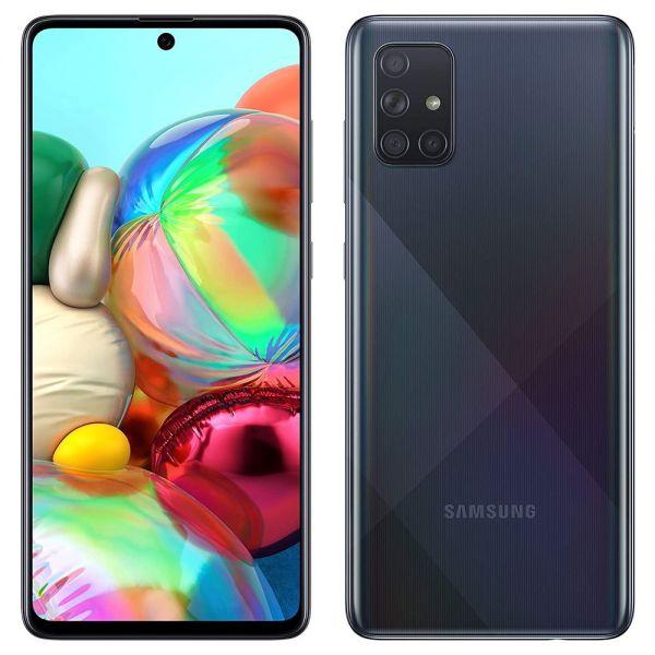 Samsung Galaxy A71 dual sim 128 go Noir reconditionné en France