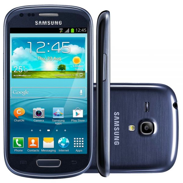 Samsung Galaxy S3 mini VE NFC I8200N Bleu reconditionné en France