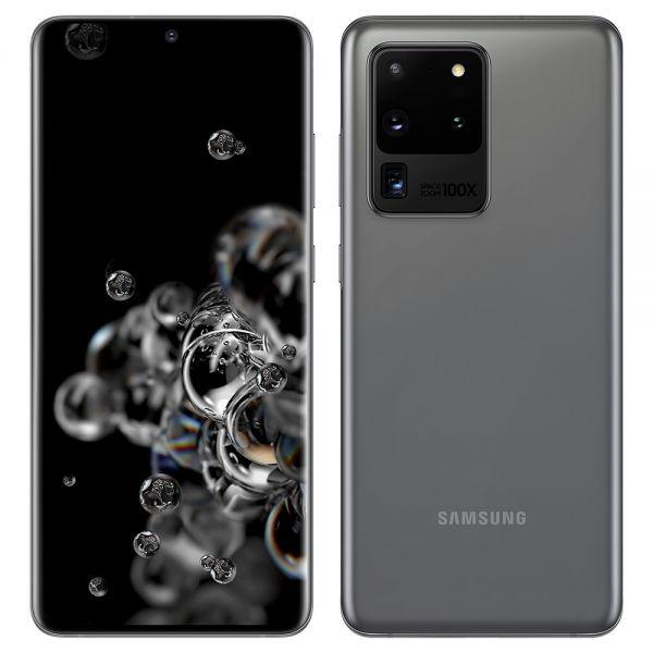 Samsung Galaxy S20 Ultra 5G Dual 128 Go Gris reconditionné en France
