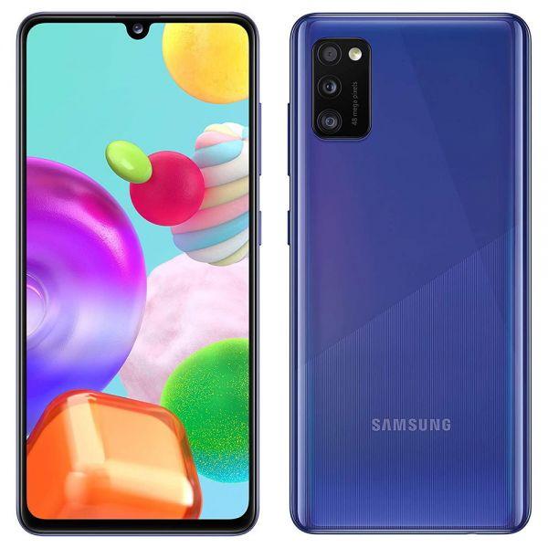 Samsung Galaxy A41 64 go dual sim Bleu reconditionné en France