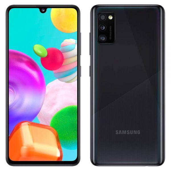 Samsung Galaxy A41 64 go dual sim Noir reconditionné en France