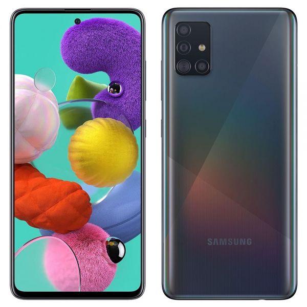 Samsung Galaxy A51 Dual 128 Go 4 Go RAM A515F Noir reconditionné en France
