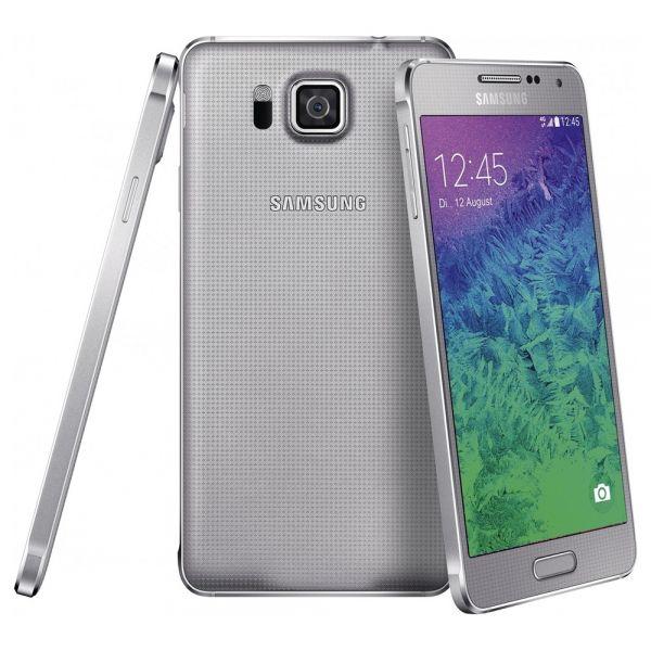 Samsung Galaxy Alpha G850F Argent reconditionné en France