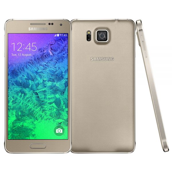 Samsung Galaxy Alpha G850F Doré reconditionné en France