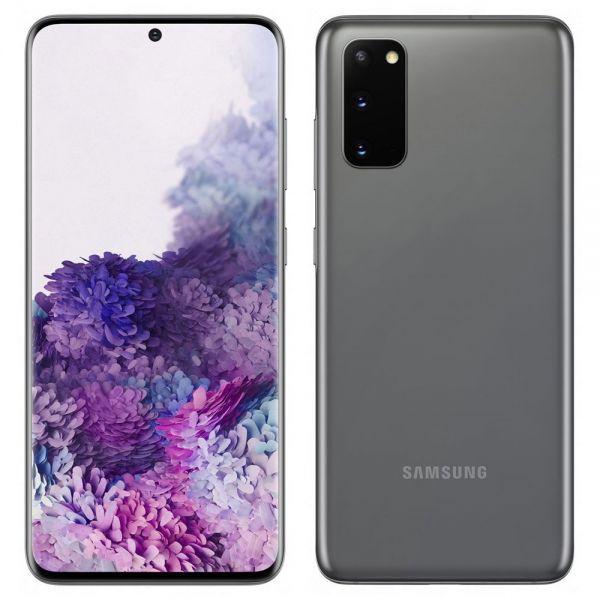 Samsung Galaxy S20 Dual 128 Go 8 Go RAM Gris reconditionné en France