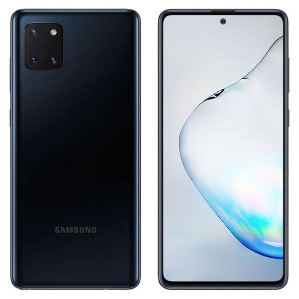 Samsung Galaxy note 10 Lite Dual 128 Go Noir reconditionné en France