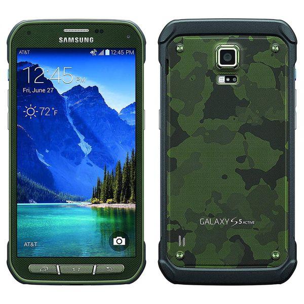 Samsung Galaxy S5 Active Vert reconditionné en France