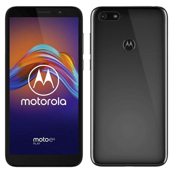 Motorola Moto E6 play dual 32 go Noir reconditionné en France