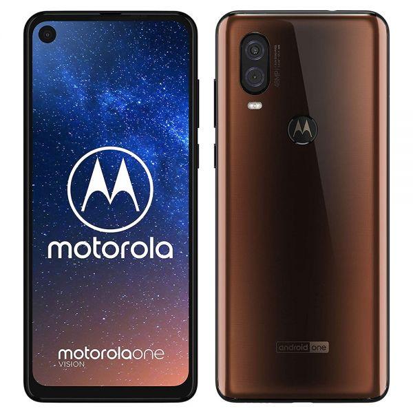 Motorola One Vision Dual Sim Marron reconditionné en France