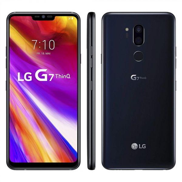 LG G7 ThinQ Noir de jais reconditionné en France