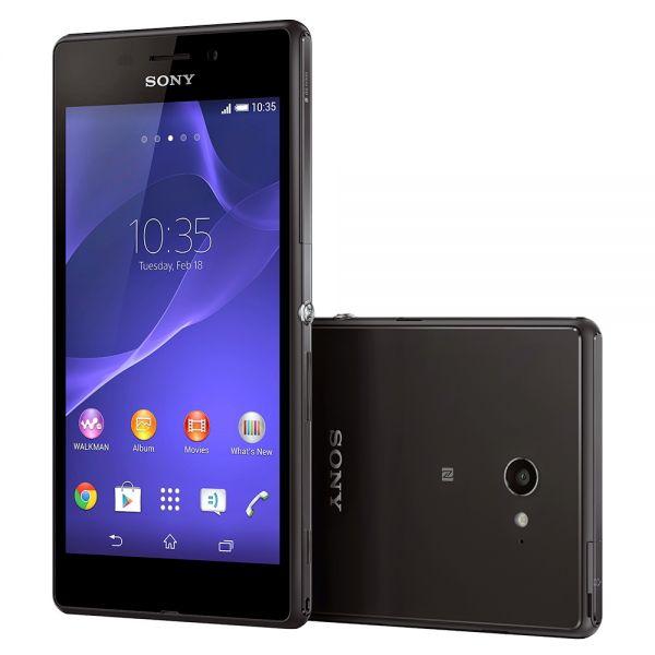 Sony Ericsson Xperia M2 Aqua D2403 Noir reconditionné en France