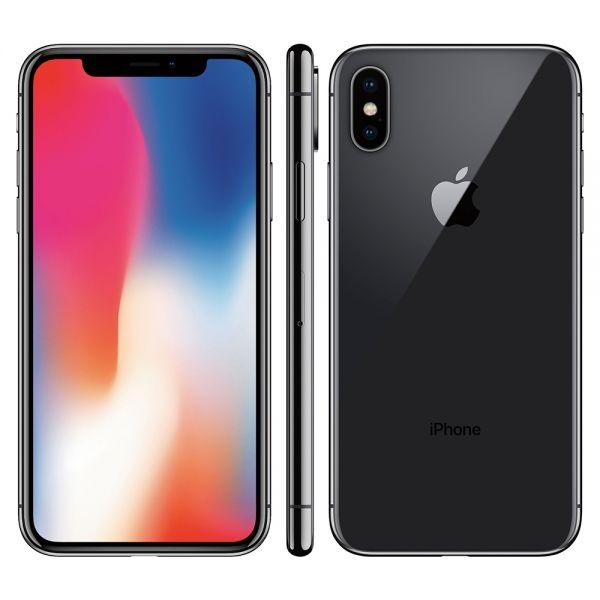 Apple iPhone X 64 Go Gris reconditionné en France