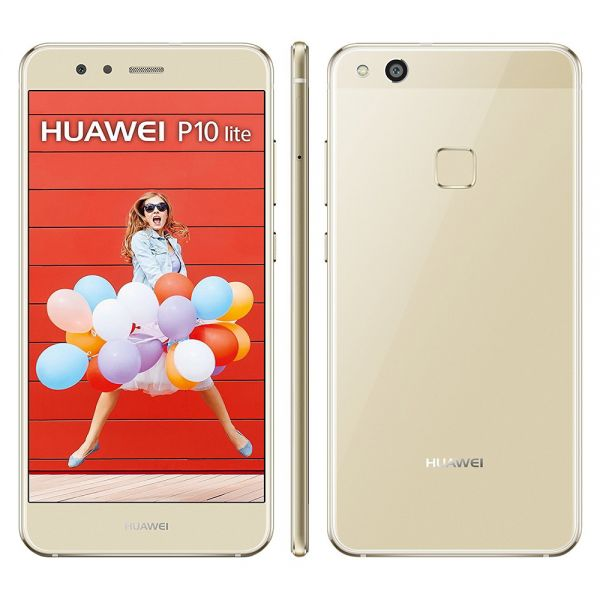 Huawei P10 lite Dual Doré reconditionné en France