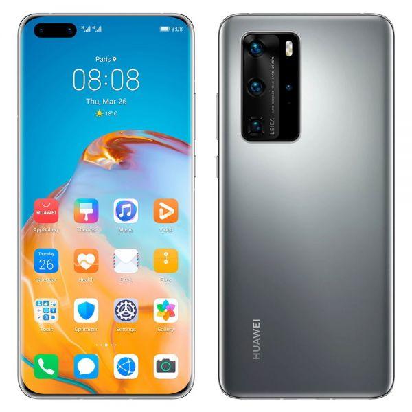 Huawei P40 Pro Dual 256 Go Gris reconditionné en France