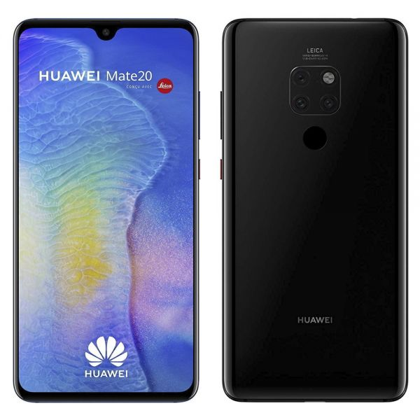 Huawei Mate 20 Dual 128 Go Noir reconditionné en France