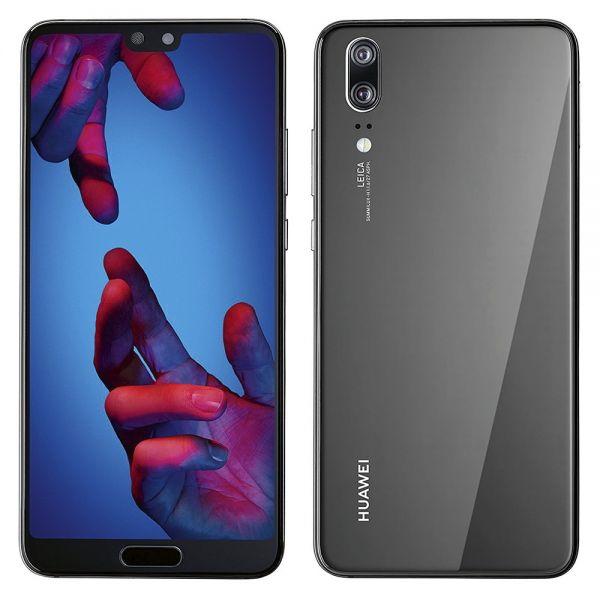 Huawei P20 Dual sim 128 Go Noir reconditionné en France