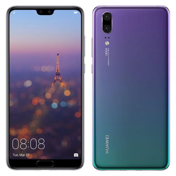Huawei P20 Dual sim 128 Go Violet reconditionné en France