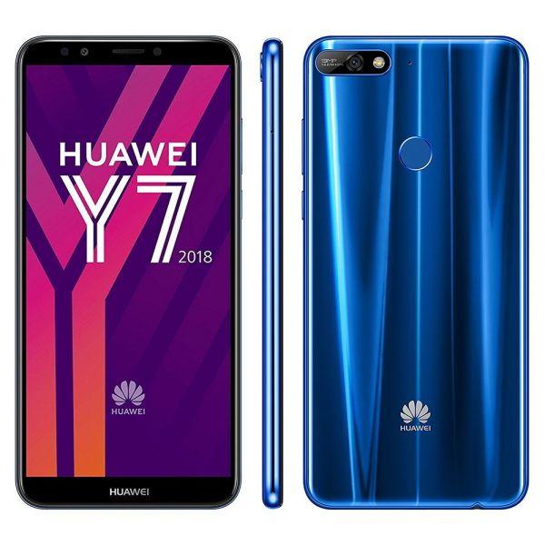 Huawei Y7 (2018) Bleu reconditionné en France