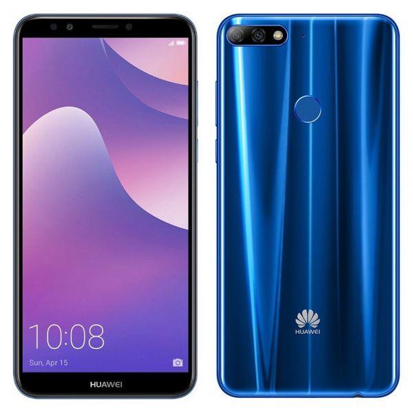 Huawei Y7 Prime (2018) Bleu reconditionné en France