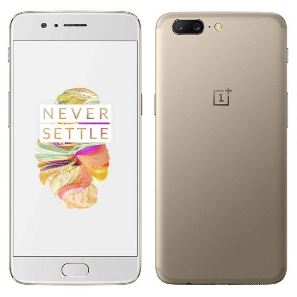 OnePlus 5 64 Go Doré reconditionné en France