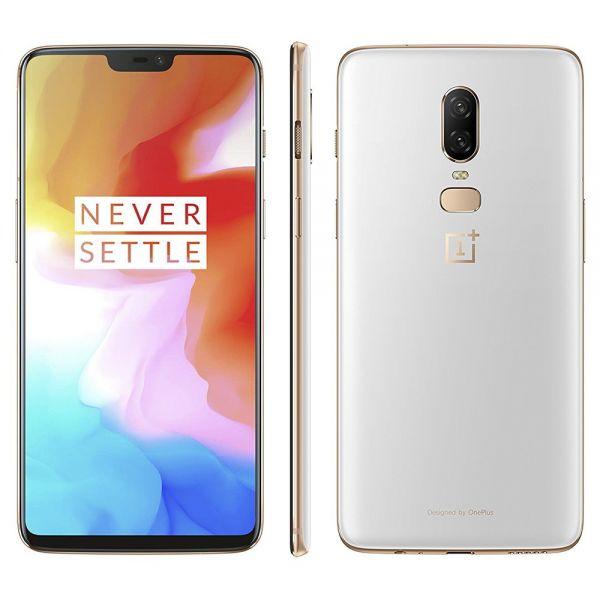 OnePlus 6 128 Go Blanc et Doré reconditionné en France