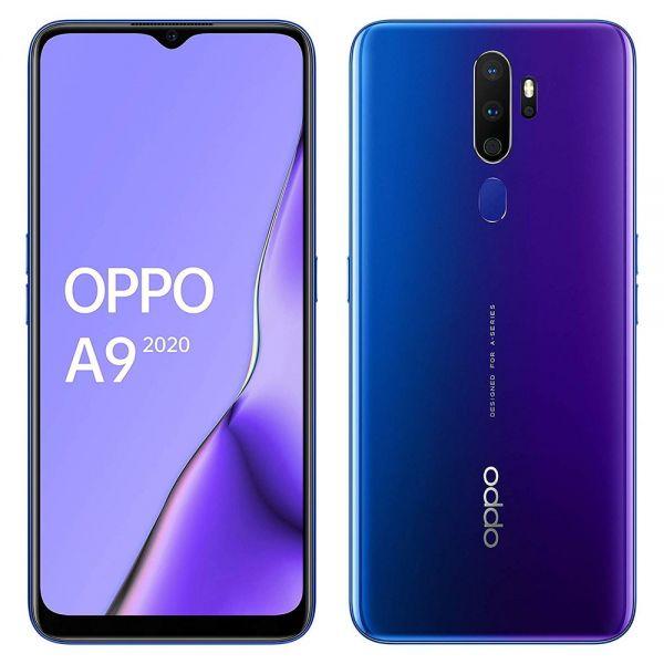 Oppo A9 (2020) 128 go Violet reconditionné en France
